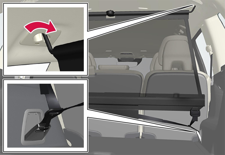 P5-1507 Cargo net - rear mounting