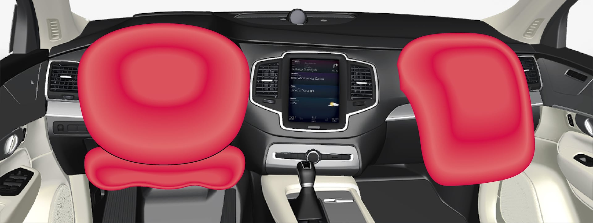 P5-1507–Safety–Driver and passenger airbags