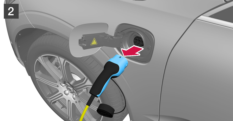 P5-1746-S90H/S90LH/V90/XC60H-Plug out cable from car NOT JA/US