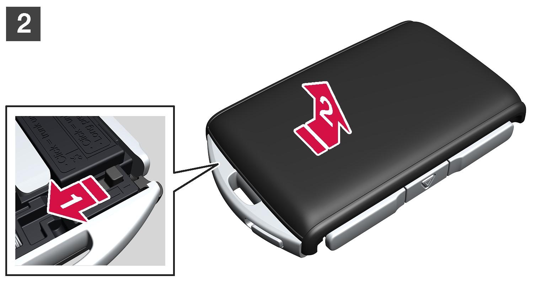 16w17 - SPA -  Change battery in remote key - No 2