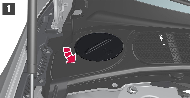 P5-1617-S90/V90 Engine coolant refill 1