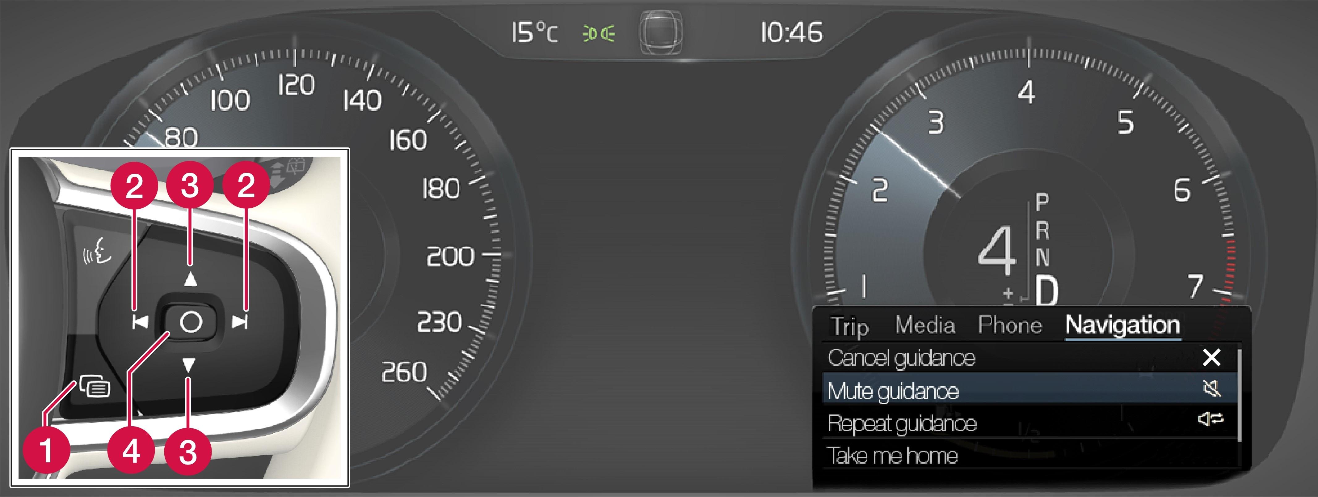 P5-1617-Navi-App menu and right steering wheel switch (RoW)