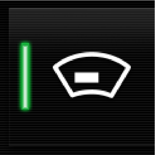 P5-1507-Head Up Display symbol