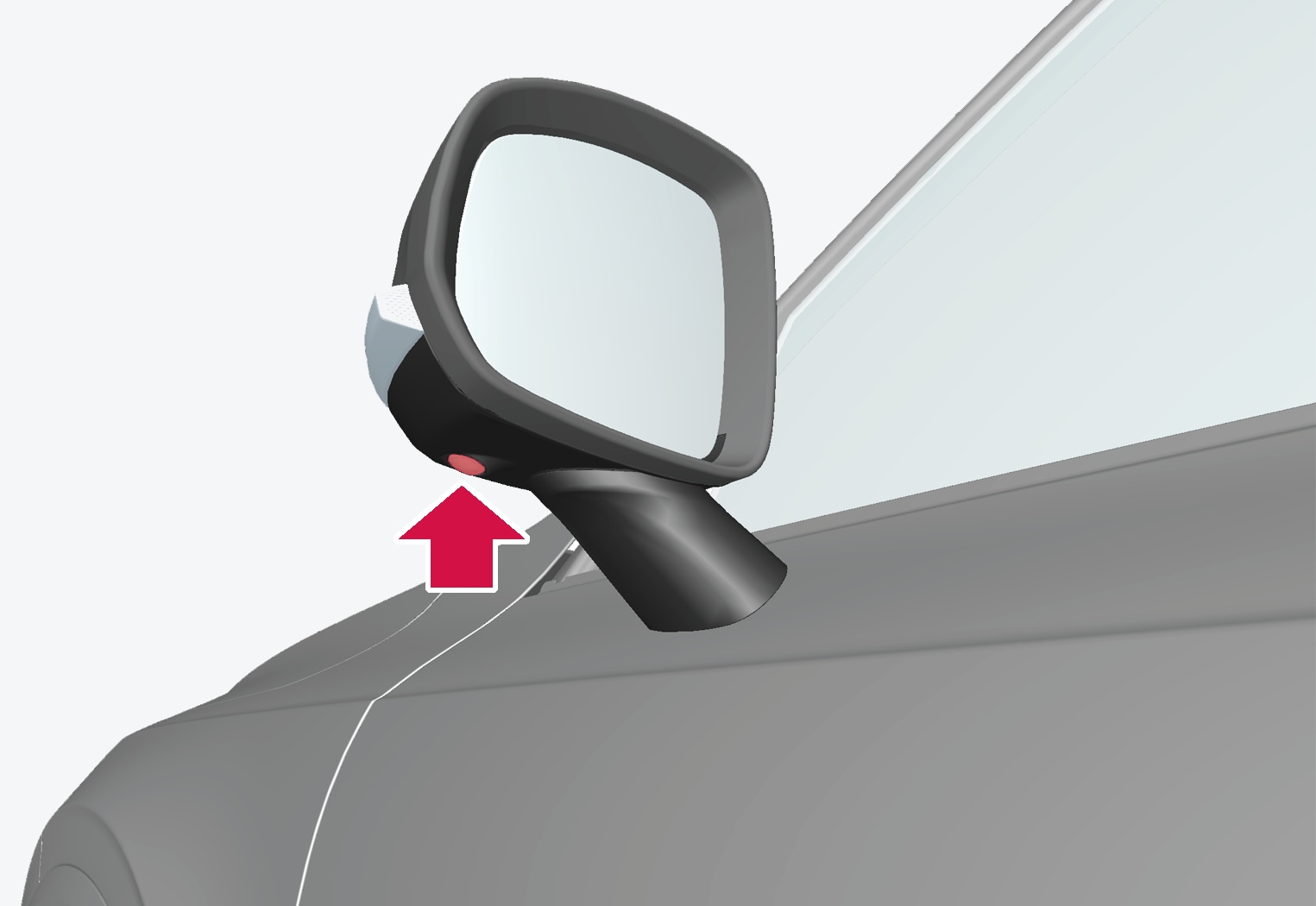 P5-1507-Park Assist Camera, side camera on door mirror