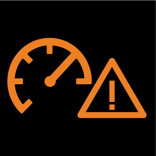 P5-1617-Symbol for Speed Warning