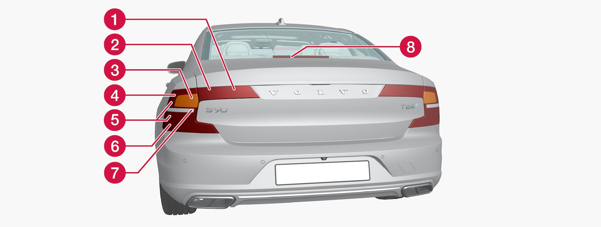 P5-1617-S90 Rear lamp positioning ECE