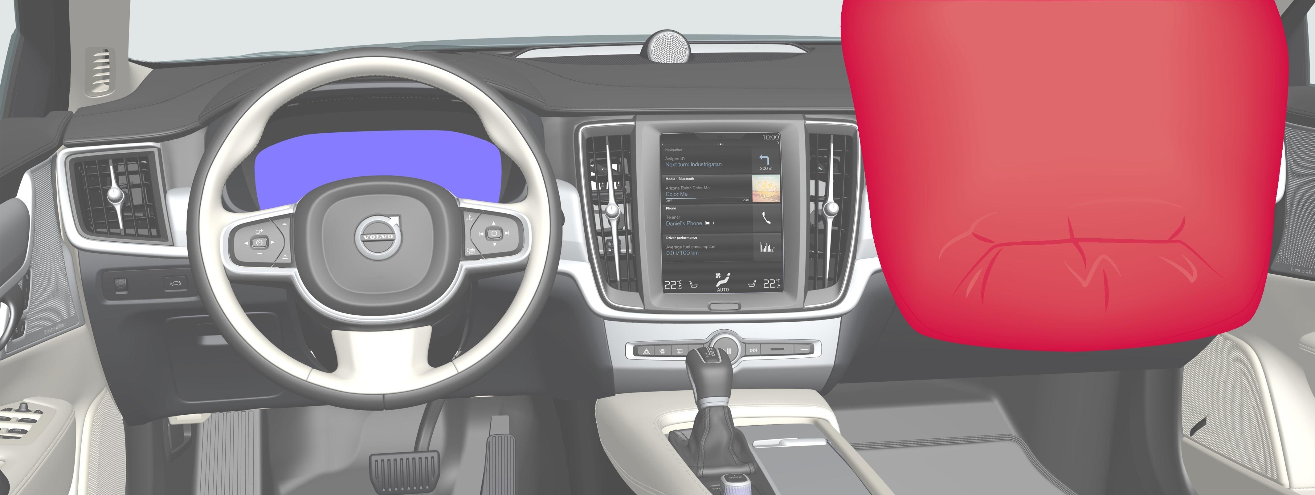P5-1746-S90/V90–Safety–Passenger airbag