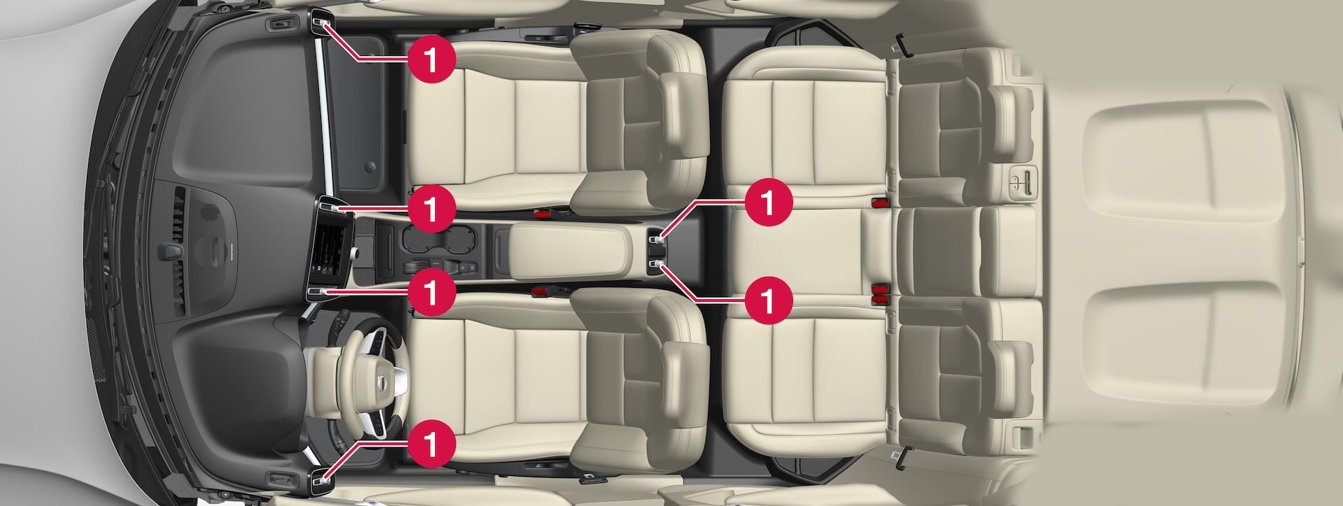 P6-1846-XC40H–Climate–Air vents regulation overview