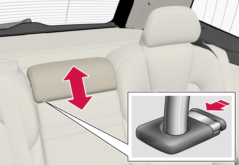 P5-1817-XC60-Rear seat-Adjust headrest center