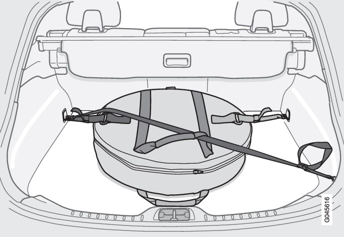 P3-1120 S60 USA spare tire supplement illustration 2