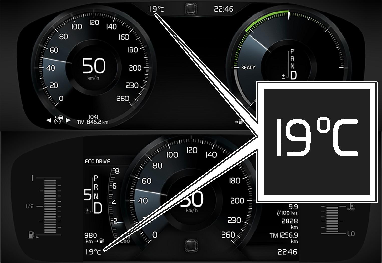 P5 - Temperature gauge DIM 8 and 12