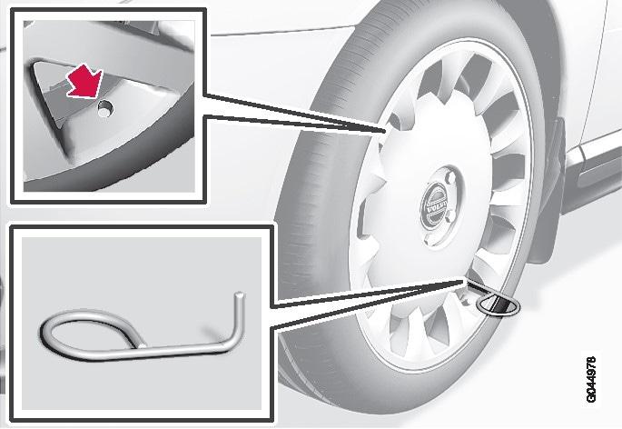 P3X-10w46- Losstagning av hjulsida med nytt verktyg