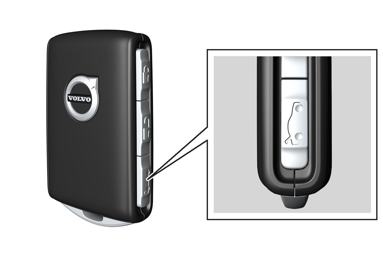 16w17 - SPA - Unlock/open tailgate with remote key button