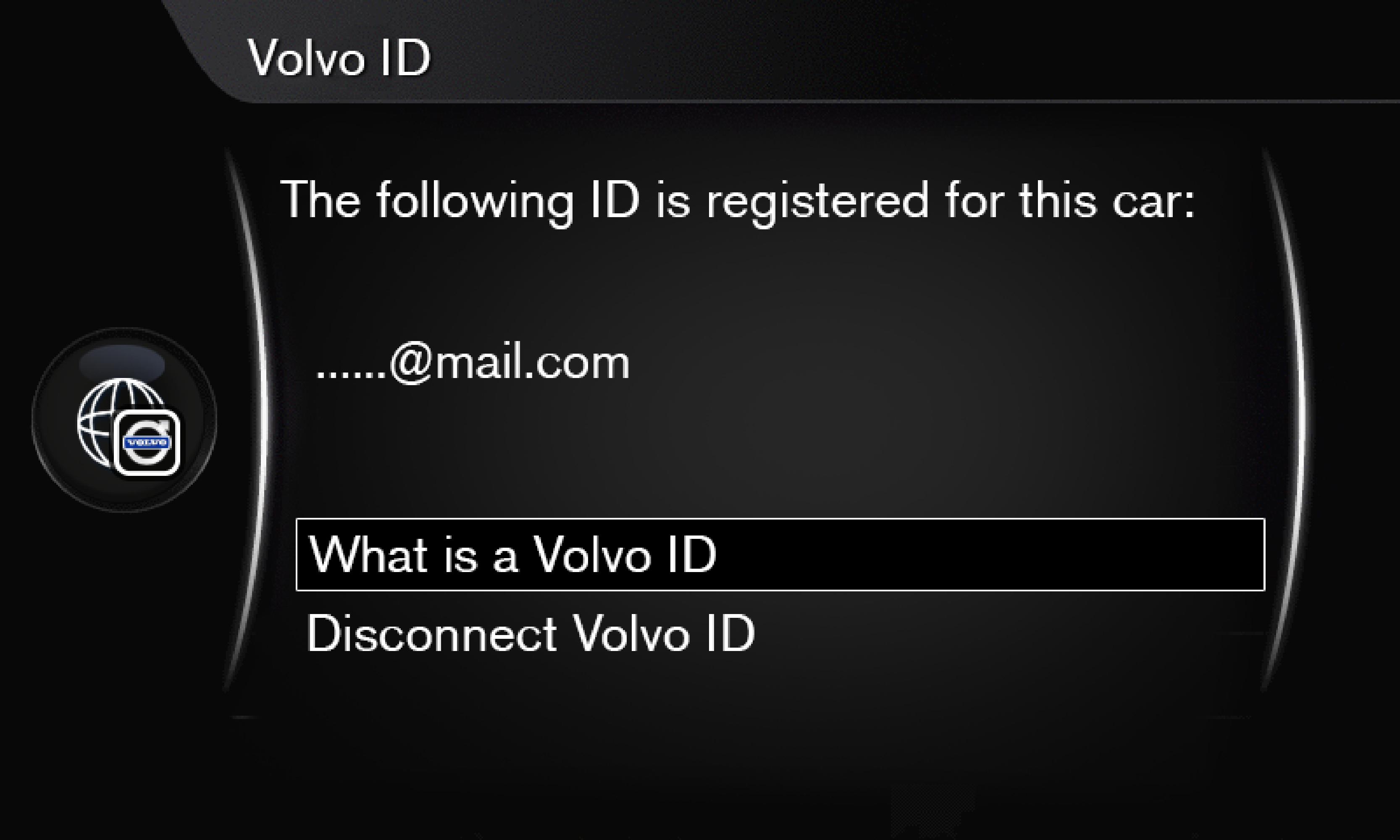 P3/P4 - Support site - Register Volvo ID
