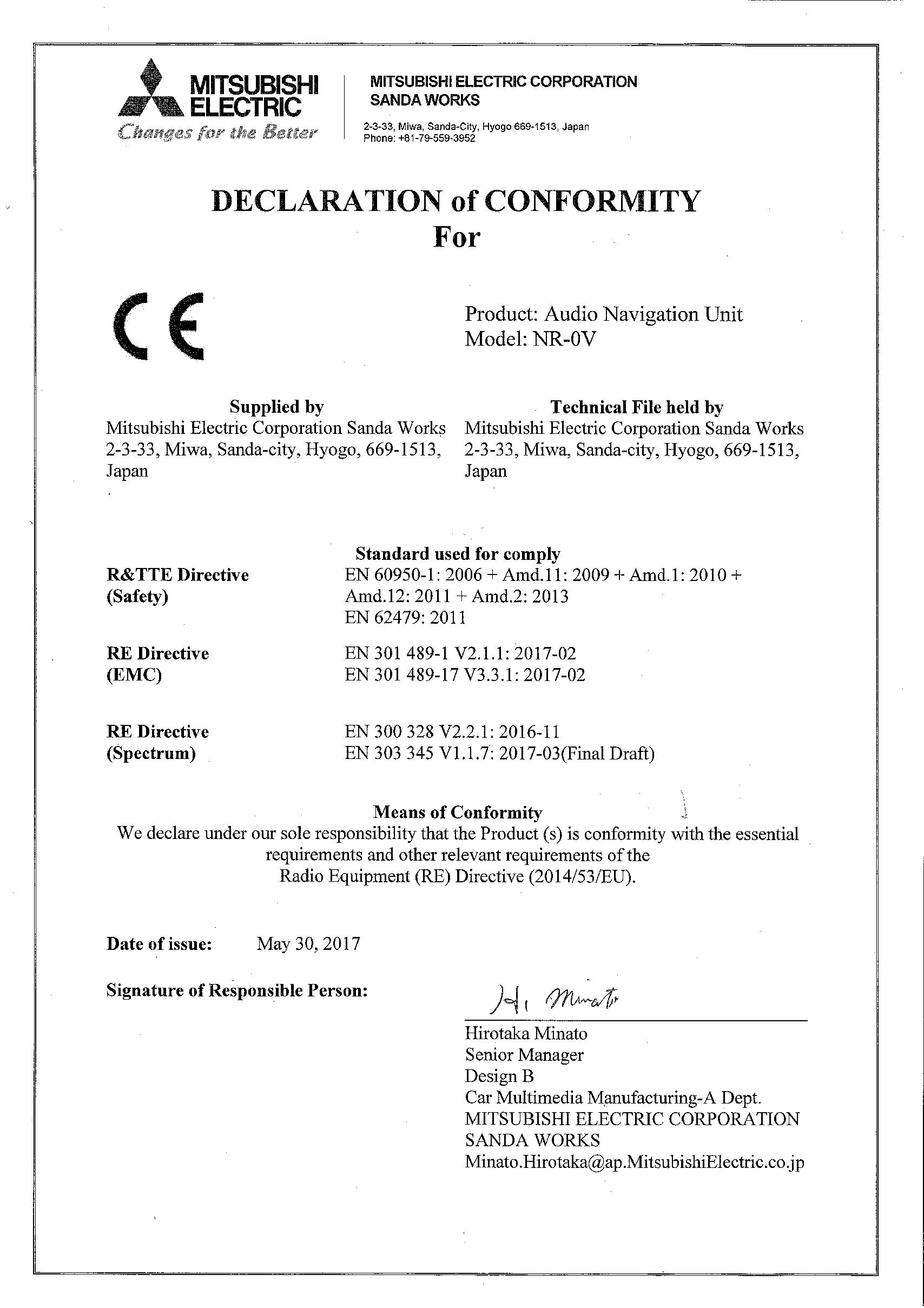 P5/P6-1746-Declaration of Conformity