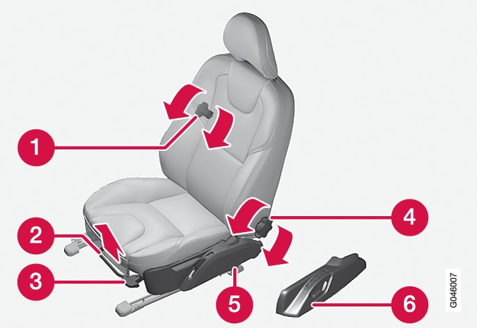 P4-1220-Y55X Front seat