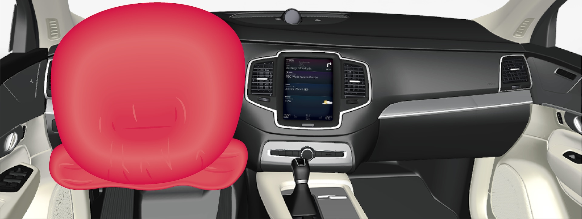 P5-1746-XC90–Safety–Driver airbags
