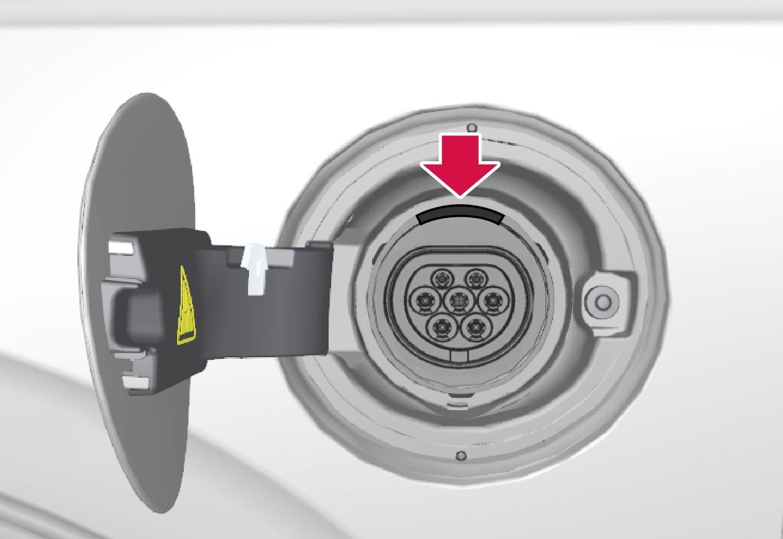 P5-1519-XC90 Hybrid-LED indicators for charging