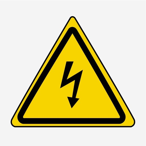 P5-1507-Symbol Elecric warning