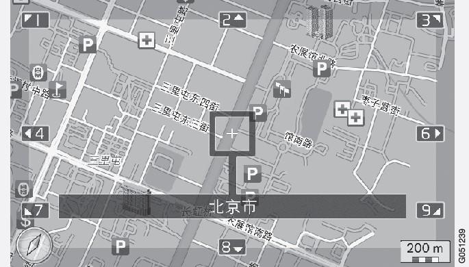 P3-1420-NAV-CHN Karta Scrolläge
