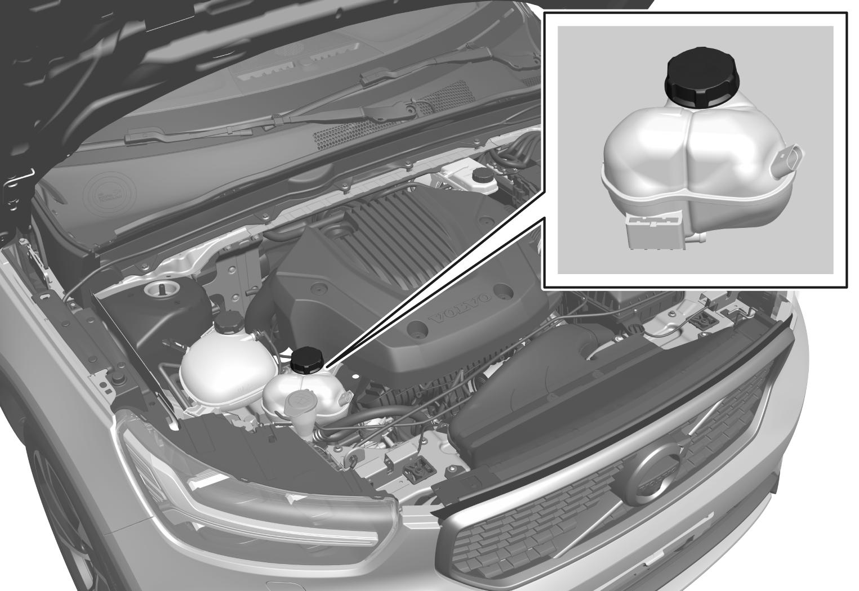 P6-2017-XC40H-Hybrid battery coolant tank