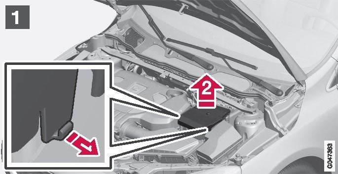 P4-1246 Loosening B+ lid (step 1)