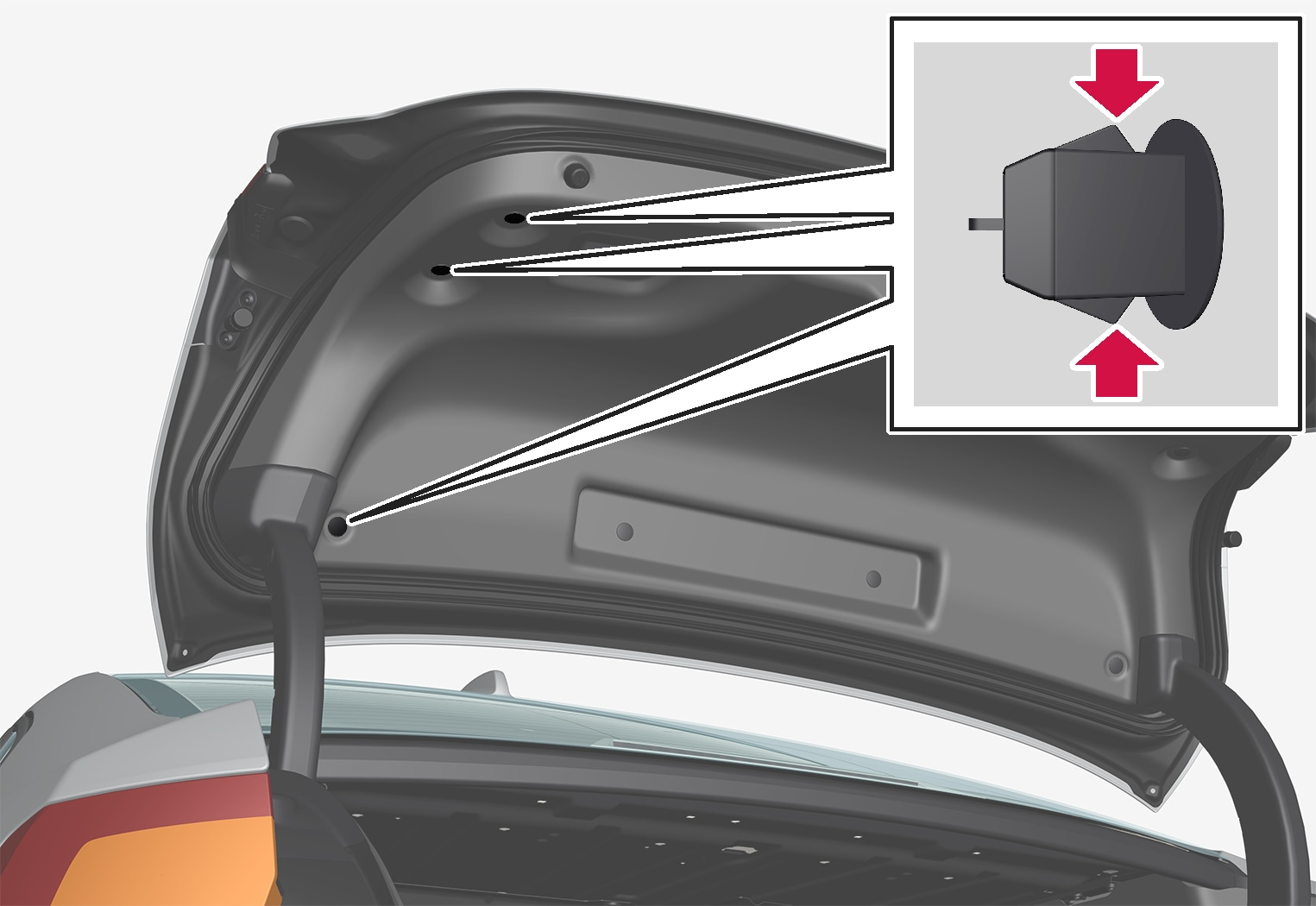 P5-1617-S90 Trunk lid panel clips removal