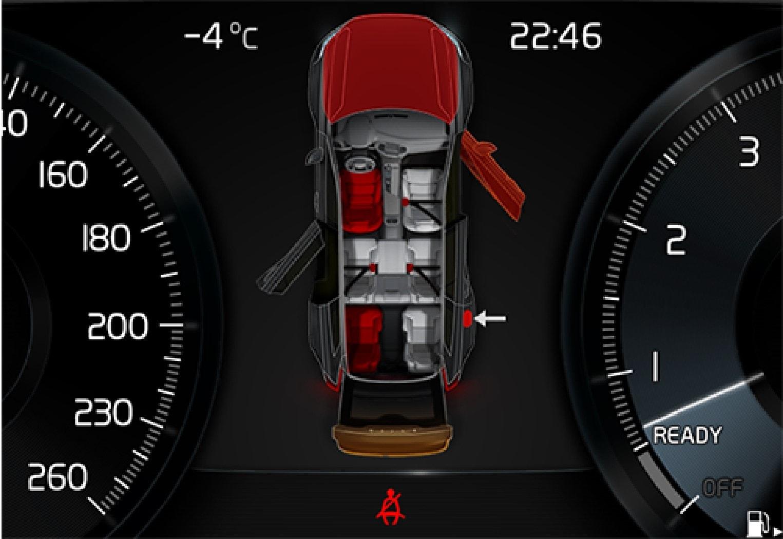 P5-1507–Safety–Driver display belt and door reminder