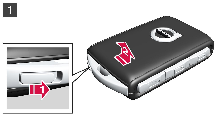 16w17 - SPA -  Change battery in remote key - No 1
