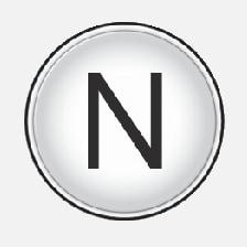 P3-1420-NAV-Melco Kompassnål N-V-S-E