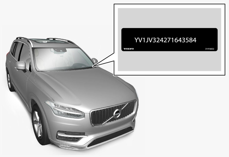Px-1846-VIN number through windshield