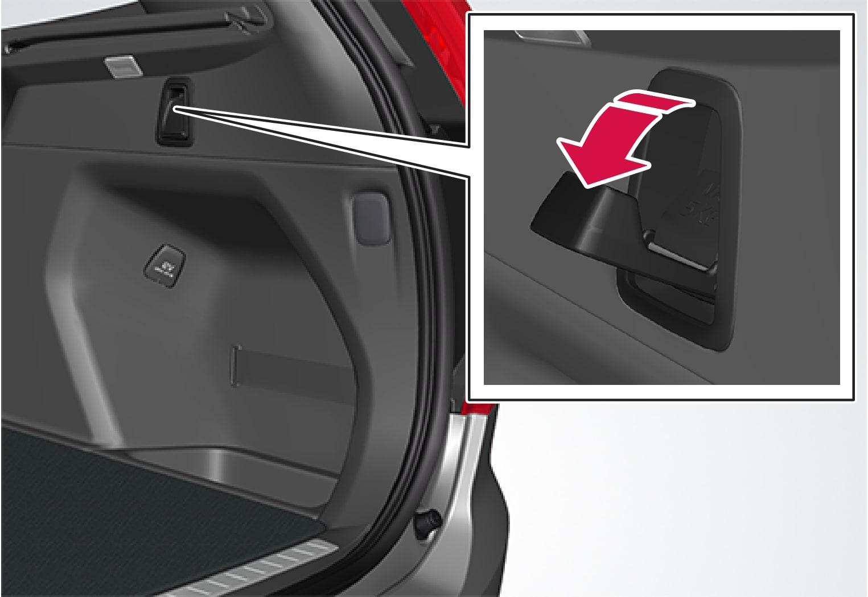 P5-1507 Bag holders in side panel