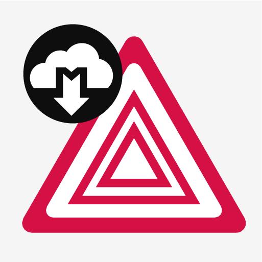 P5-1617-Connected Safety symbol Hazard Light