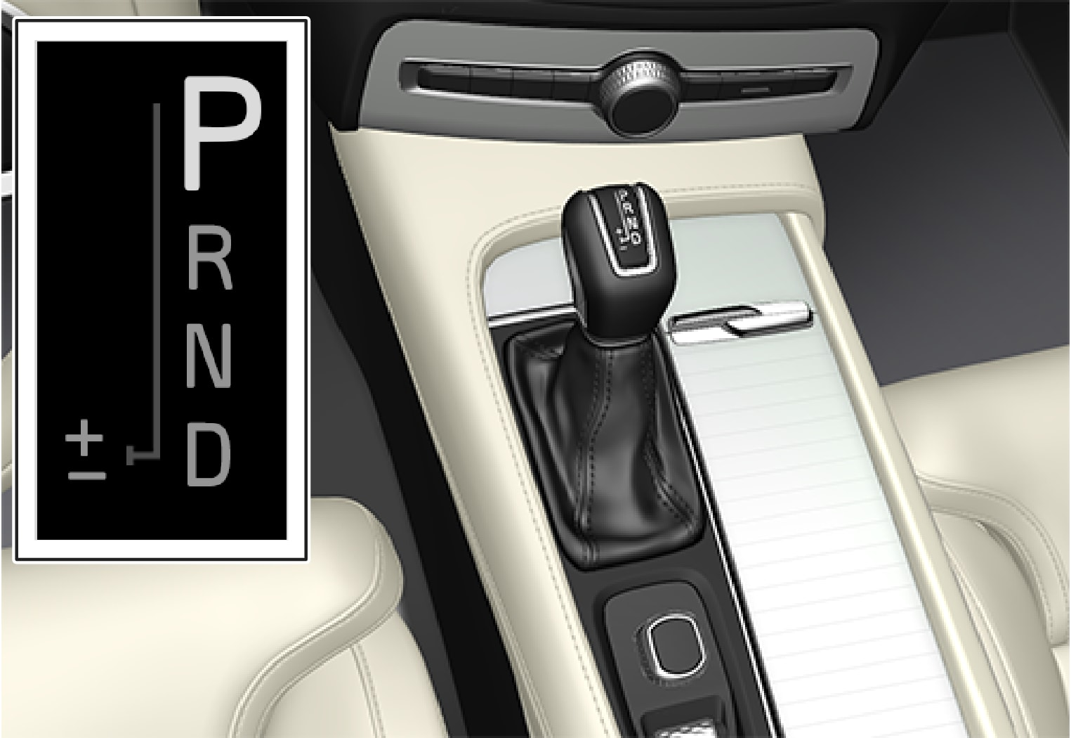 P5-1507-gear shifter with gear shift modes