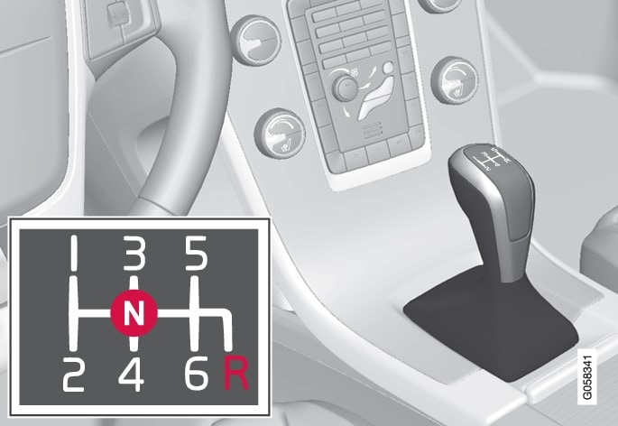 P3-1617-S60-manual gearbox shifter