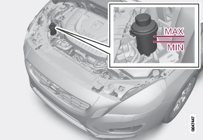 P3-1246-V60H Servo steering oil refill