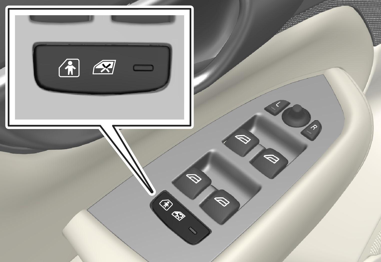 Button for electric activation/deactivation.