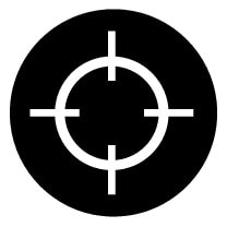 P5-1717-Navi Crosshair symbol