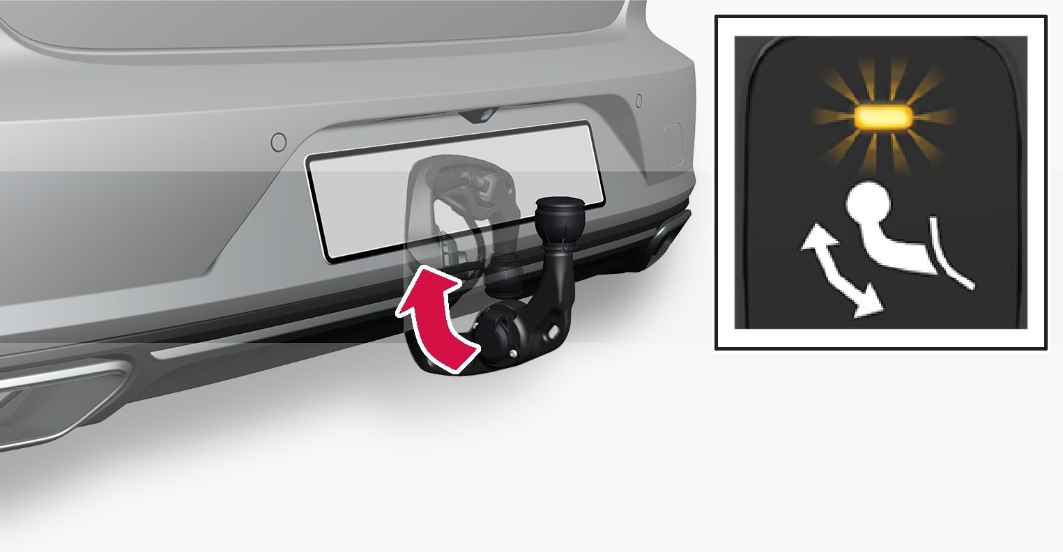 P5-1617-S90-V90-swivable towbar and switch fold in step 1