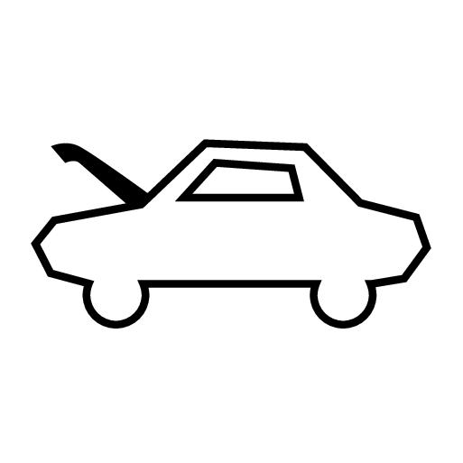 P5-1917-Open hood symbol