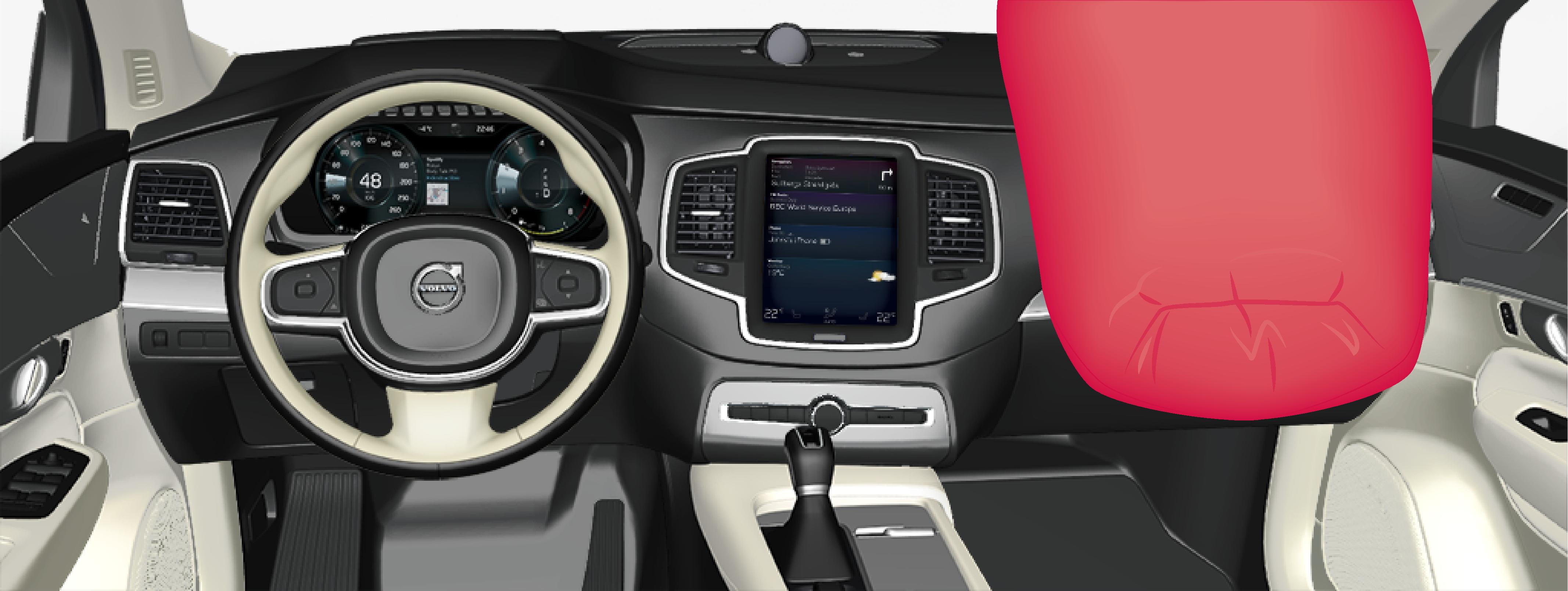 P5-1746-XC90–Safety–Passenger airbag
