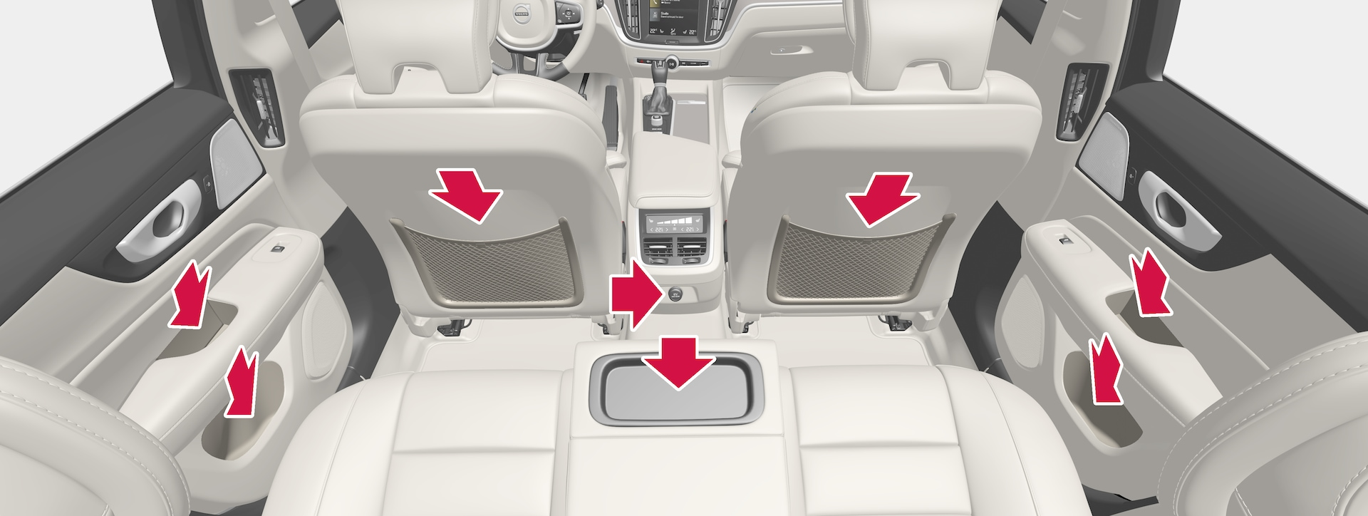 P5-1817-S/V60-Interior storage, back seat