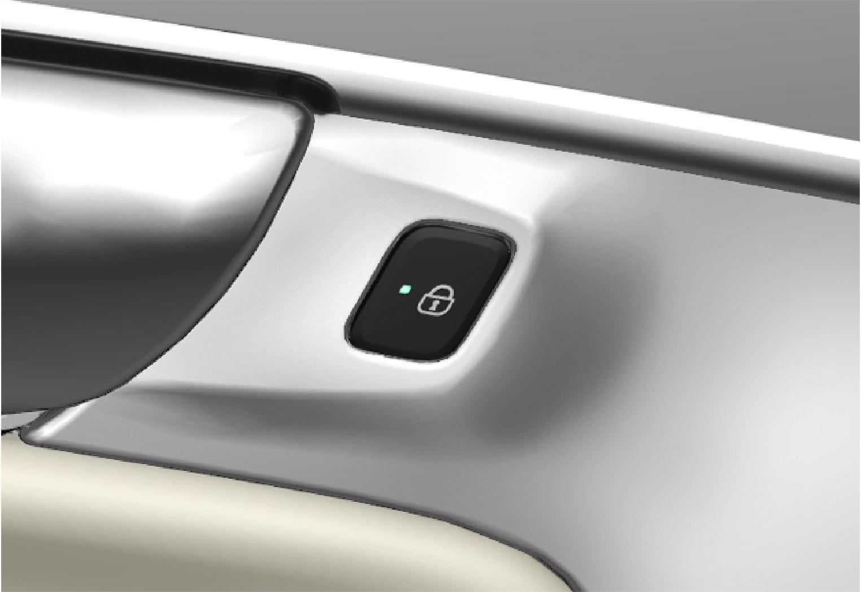 P5-1507 Central locking rear door