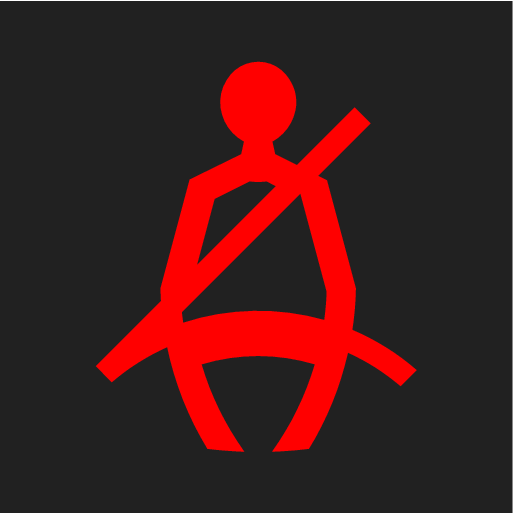 P5-1507 Symbol Seatbelt