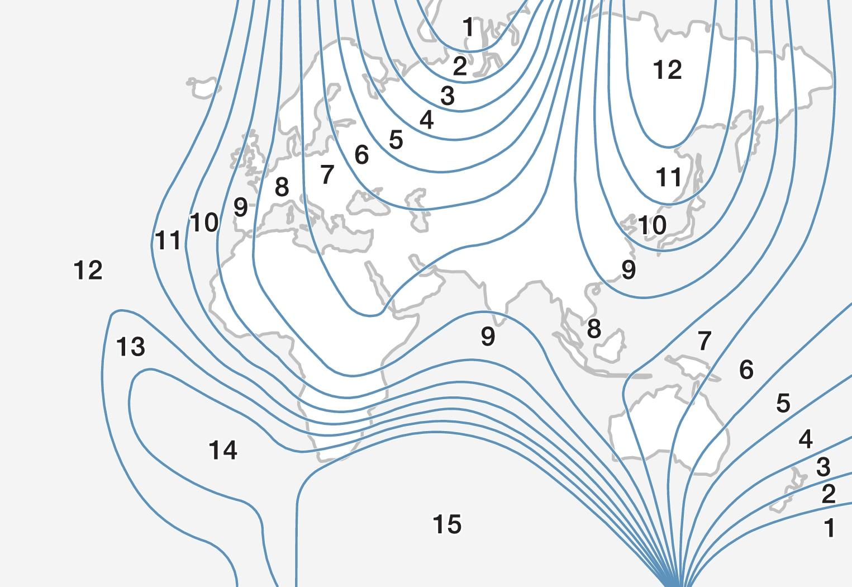 P5-1507-Compass magnetic zones