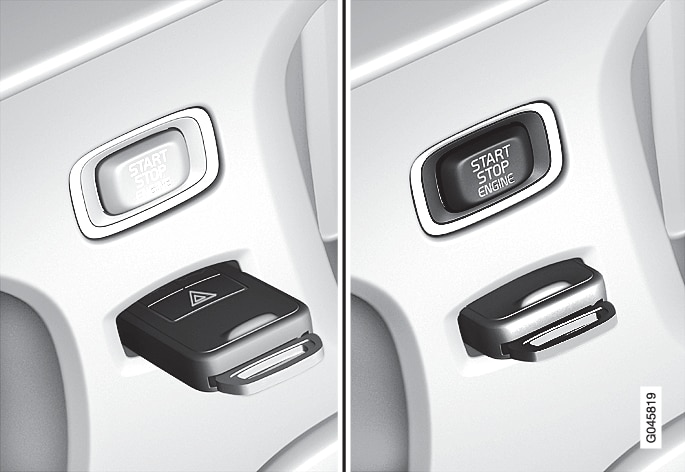 P4-1220-Y55X-Remote key in ignition slot