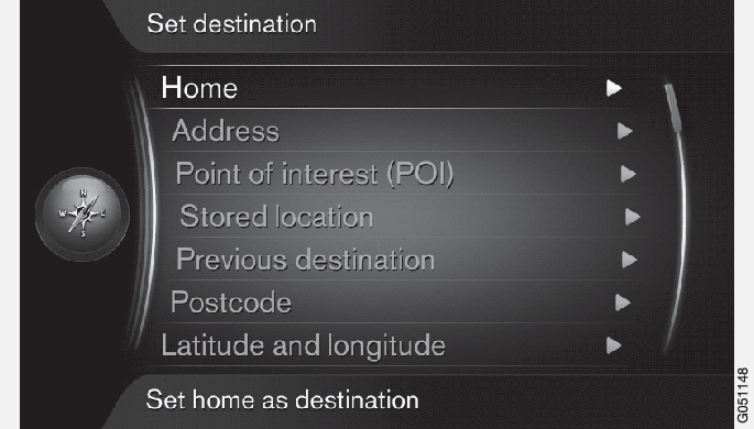 P3/P4-1420-IMAP-menu-Set destination
