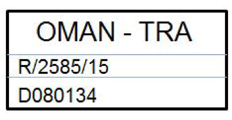 P5 - 15w46 - Remote key approval sign - Oman
