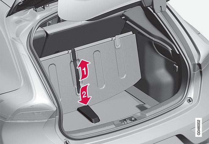 P4-1220-Y55X-Grocery bag holder,  folding up