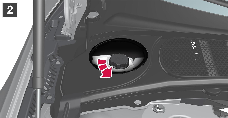 P5-1617-S90/V90 Engine coolant refill 2